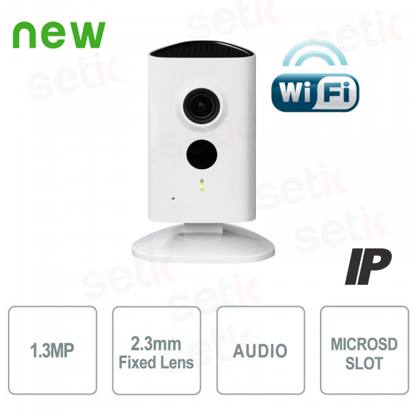 Telecamera IP da interno 1.3MP HD WiFi e IR LED - Serie C - Dahua