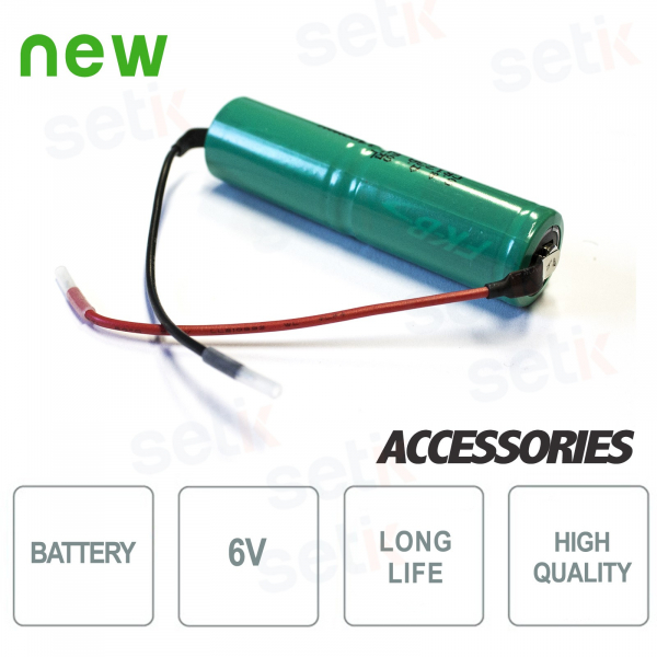 6V long-lasting battery for GRD alarm detectors