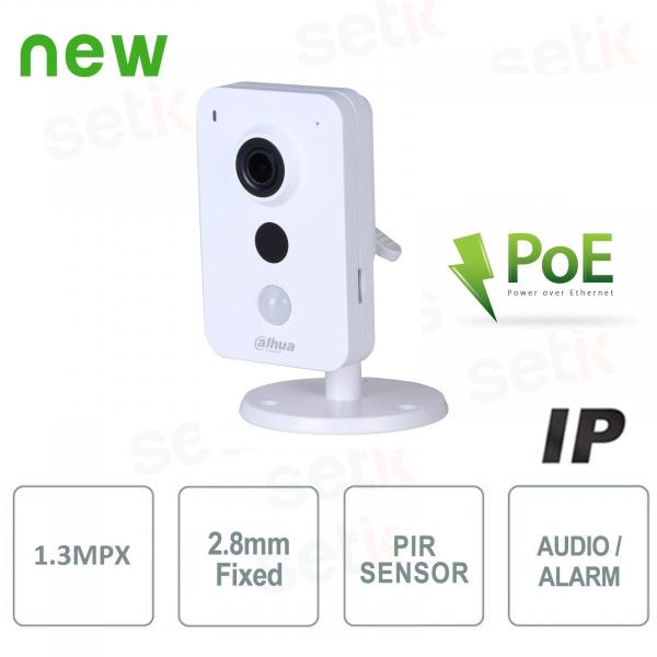 IP Camera 1,3MP 2.8mm IR Audio Alarm PoE - Dahua