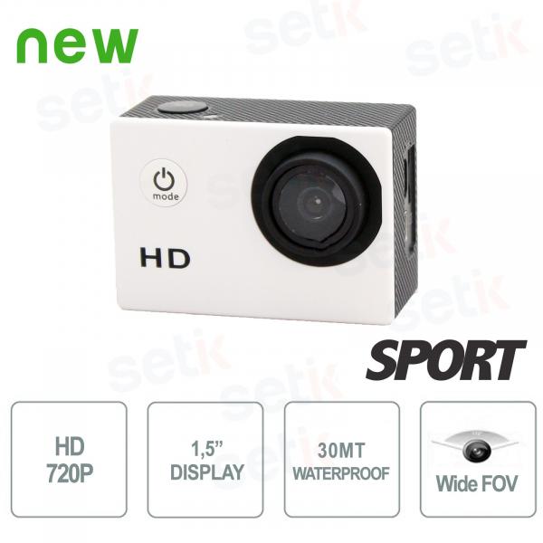 Telecamera Sportiva HD 720P Foto e Video Waterproof - Setik