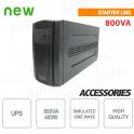 Gruppo di continuità UPS 800VA / 400W Monofase