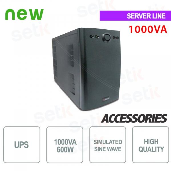Unterbrechungsfreie Stromversorgung USV 1000VA / 600W Einphasig