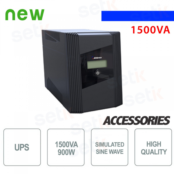 Utility Power Supply UPS 1500VA / 900W LCD Monophase