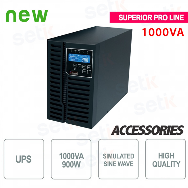 USV USV 1000VA / 900W - Superior Pro