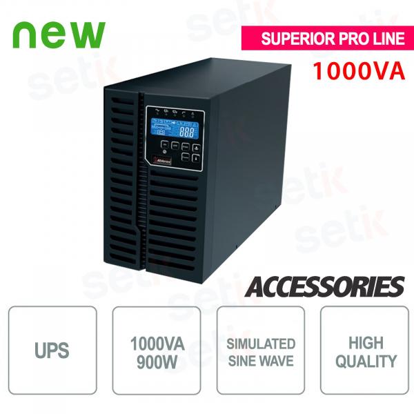 Onduleur UPS 1000VA / 900W Supérieur Pro