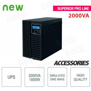 Gruppo di continuità UPS 2000VA / 1800W Superior Pro