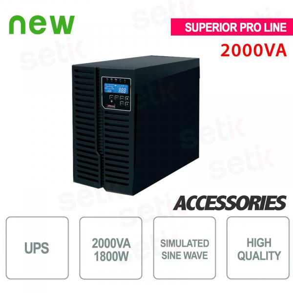 Onduleur UPS 2000VA / 1800W Supérieur Pro