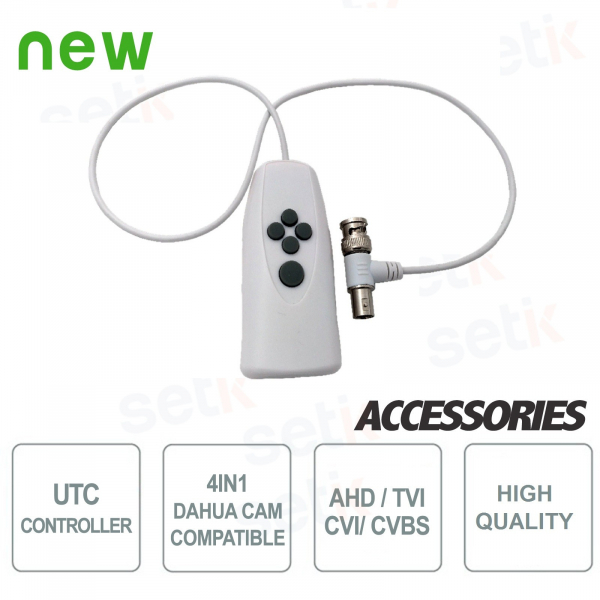 UTC Controller for Dahua 4in1 Cameras