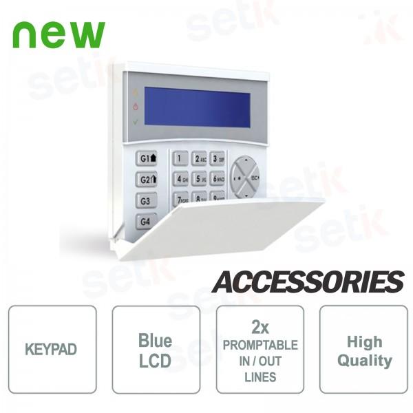 Tastiera Remota Retroilluminata LCD BLU - AMC