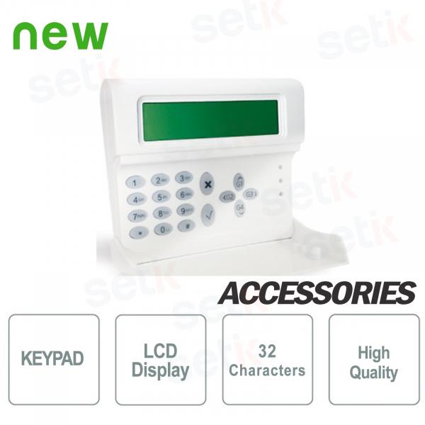 LCD Backlit Keyboard - AMC