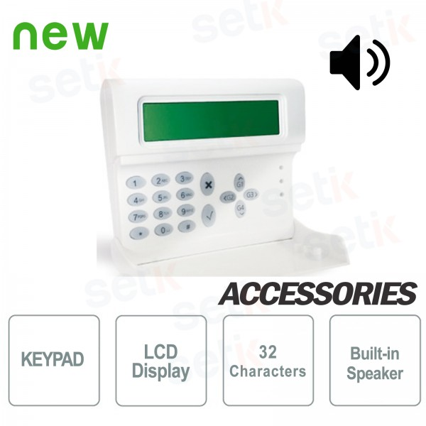 LCD Backlit Keyboard with speaker - AMC