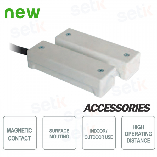 Magnetic contact for large distances IP65 - CSA