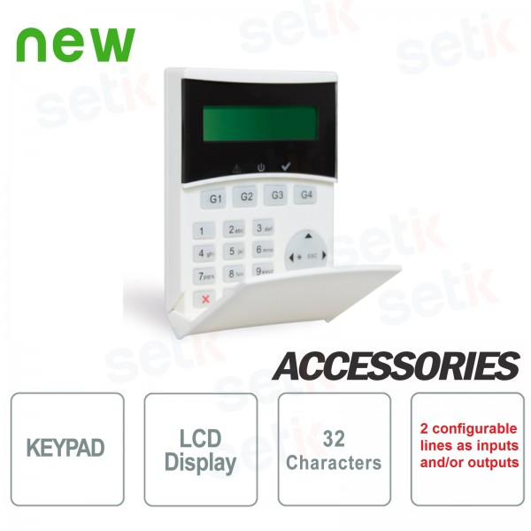LCD Backlit Remote Keyboard Light Plus - AMC