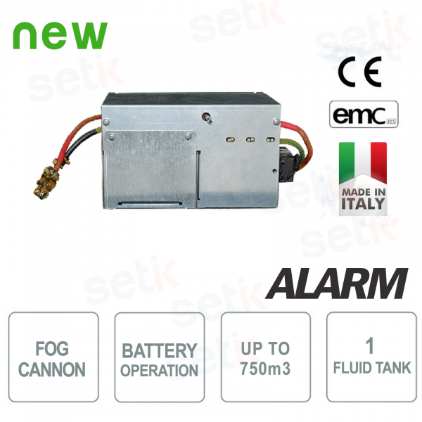 Nebbiogeno UR FOG a batteria FLEX Antifurto