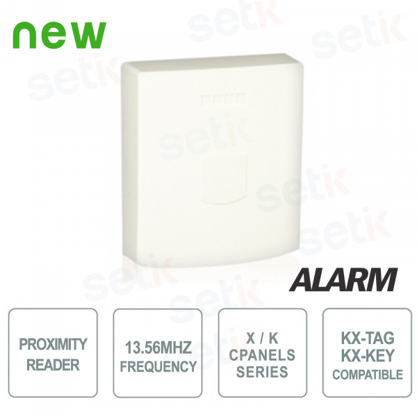 Surface tag reader in ABS 13.56MHz container - AMC