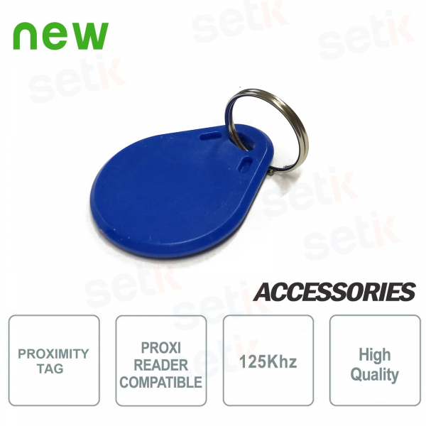 125Khz RFID TAG for proximity readers - Setik