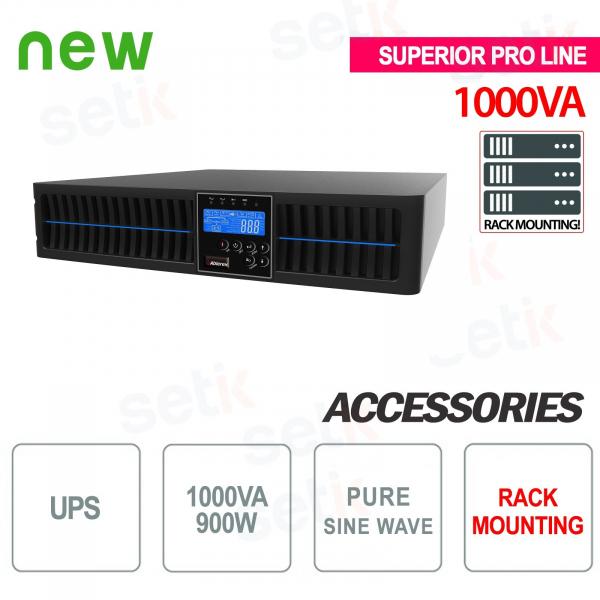 Alimentation sans coupure UPS 1000VA 900W RACK - Superior