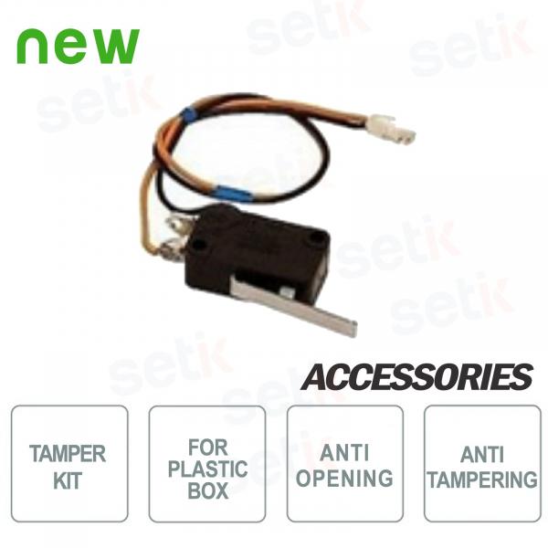 Kit Tamper AMC antimanomissione per box in plastica