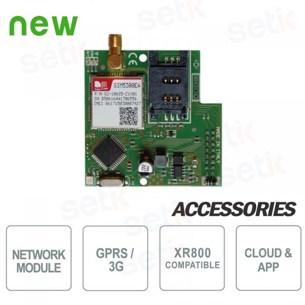 Modulo per comunicazioni su rete GPRS e 3G - AMC