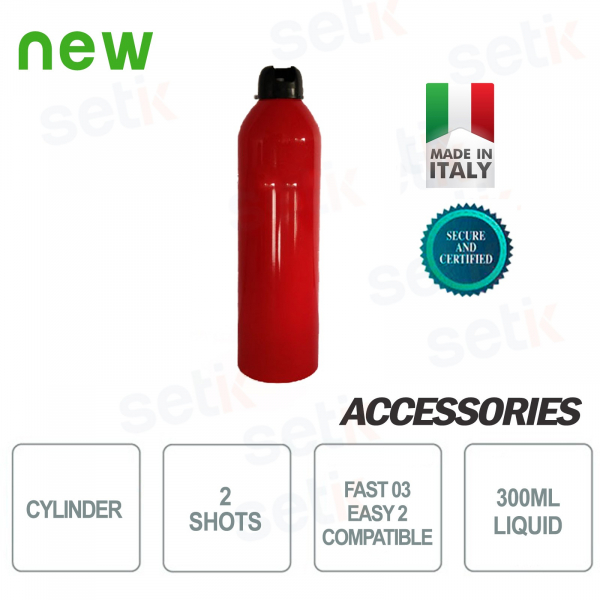 Bombola Nebbiogeno Easy 200 2 Spari Antifurto - UR FOG