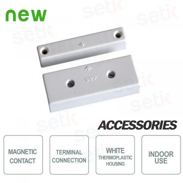 Contatto Magnetico in termoplastico a morsetti bianco - CSA