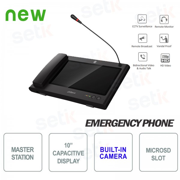 Dahua Master Station for SOS telephones and video door phones