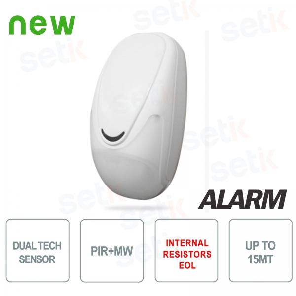 Sensore Doppia Tecnologia Resistenze EOL AMC