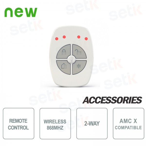 Two-way remote control 5ch 868Mhz - AMC