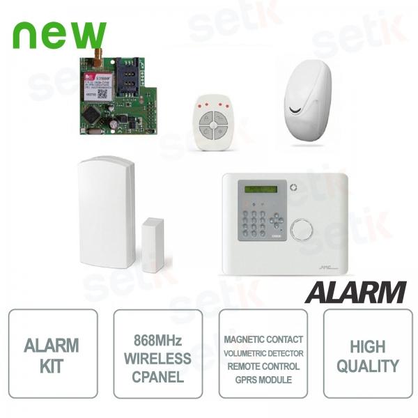 Allarme Casa KIT Completo AMC Wireless 868Mhz