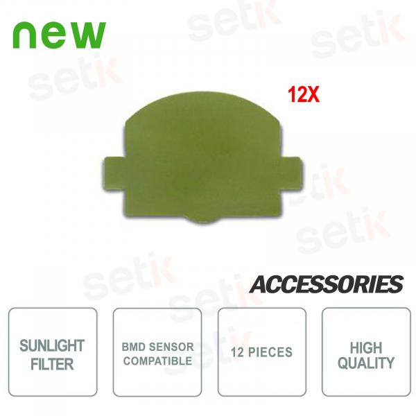 Solar light filter for bmd sensors - 12 Pieces - Bentel