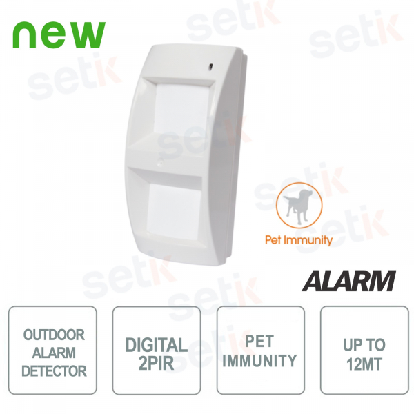 Pet Immune digital outdoor sensor - AMC