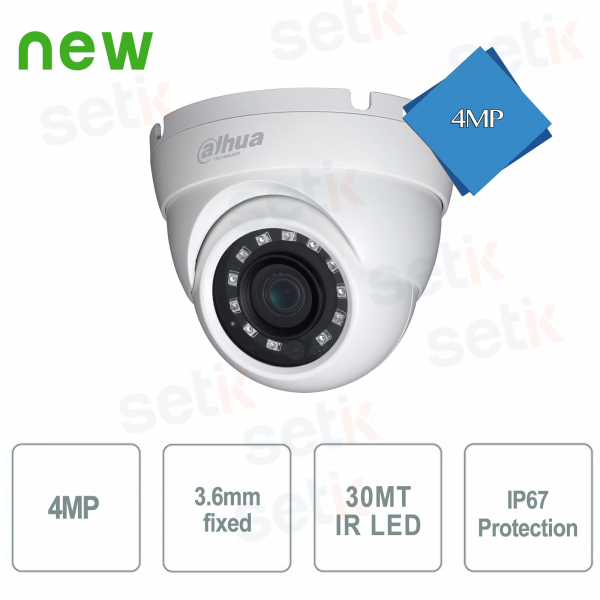 HD CVI Dome Outdoor Camera 4MP SMD Dahua