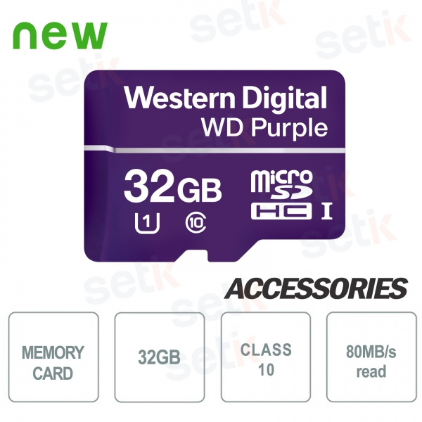 MicroSDHC Western Digital 32 GB Class 10 UHS