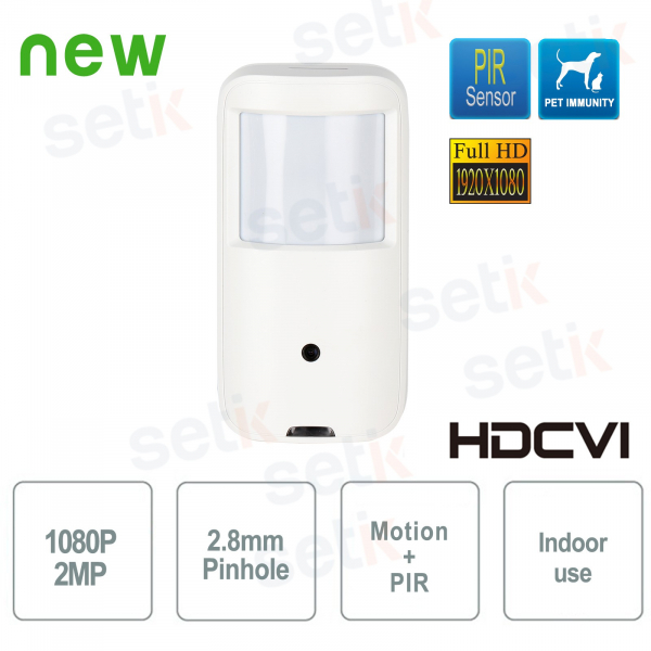 HD CVI 1080P Real PIR MotionEye Dahua camera