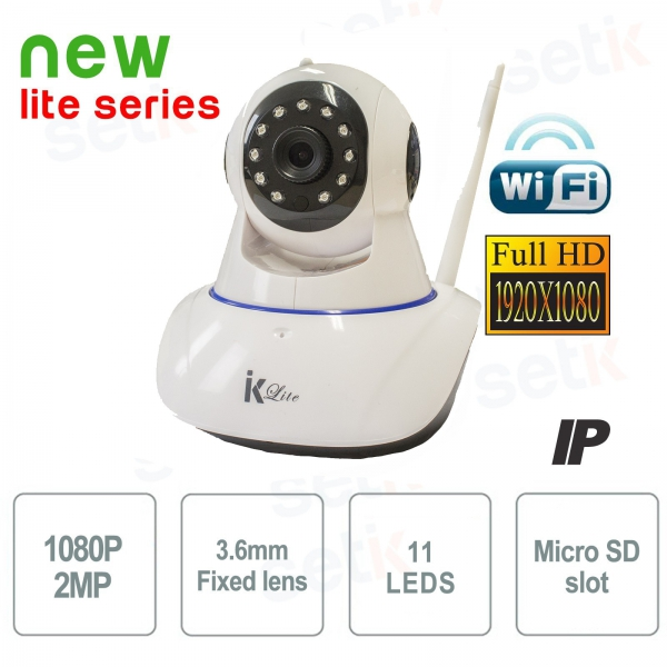 IP Wifi Home Security Camera FULL HD P2P - Setik