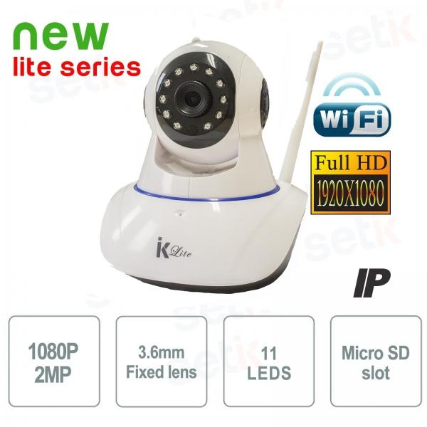 Telecamera Wifi IP Motorizzata FULL HD 1080P P2P - Setik