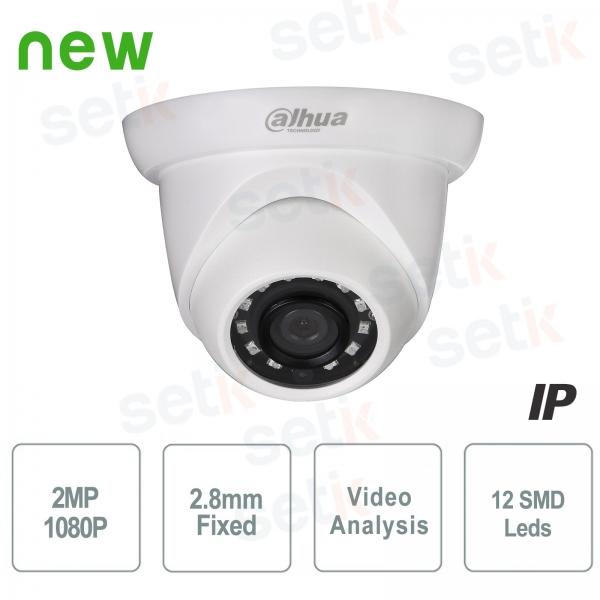 Telecamera Onvif PoE IP 1080P 2.8mm H.265 - DAHUA