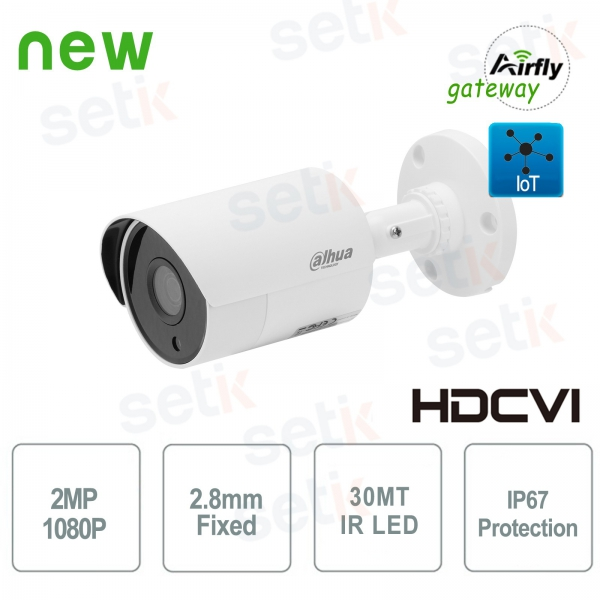 Telecamera HD CVI 2MP Gateway Airfly IoT - Dahua