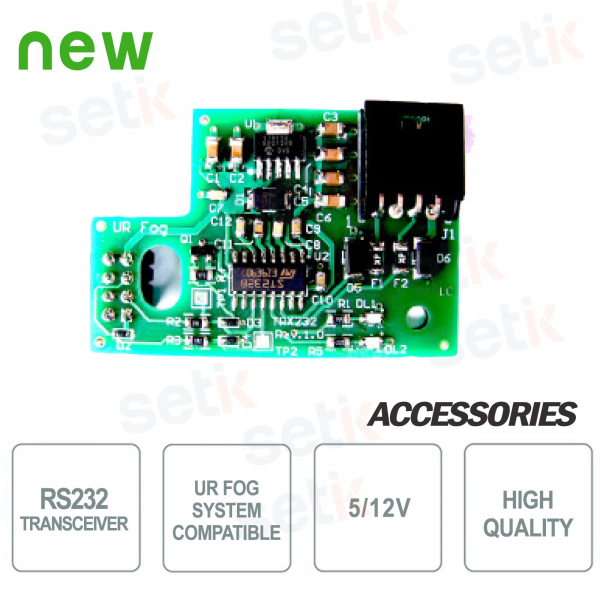 RS232 5 / 12V transceiver - UR FOG
