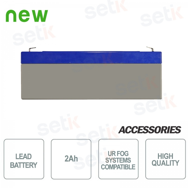 2Ah battery for UR FOG fog-lights