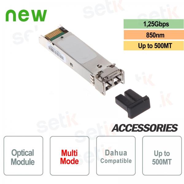 Fibra ottica multi-modale 1,25G TX/RX 850nm/850nm 500MT LC Dahua