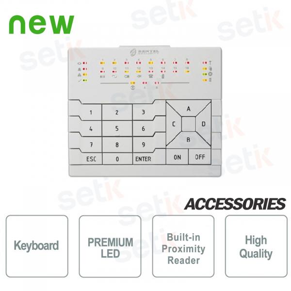 Premium LED keyboard - Bentel