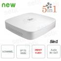 DVR 8 Channel CVI AHD TVI ANALOGIC IP 1080N H.265 + Dahua
