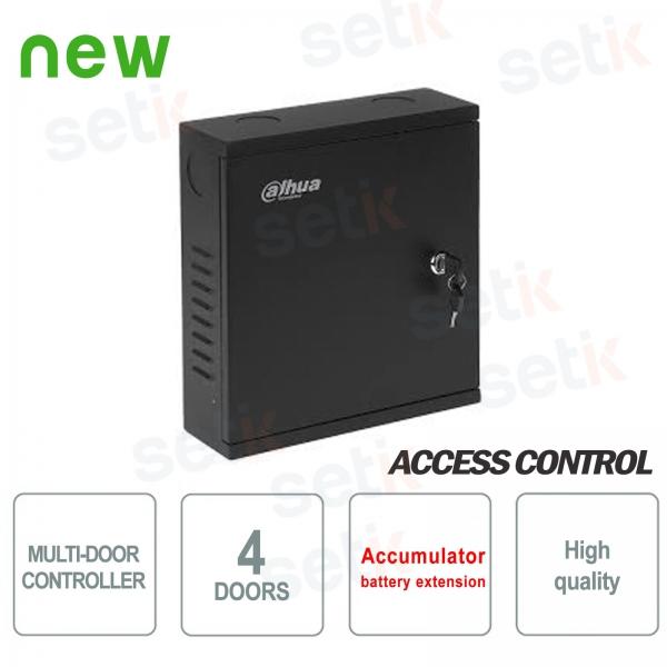 Controller di Accesso 4 porte con vano batteria - Dahua