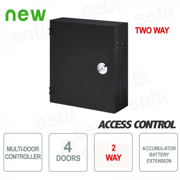 4-way bidirectional controller with Dahua battery compartment