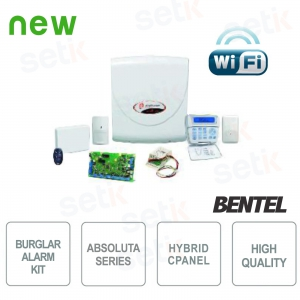 Promo Kit Antifurto Absoluta Bentel WiFi