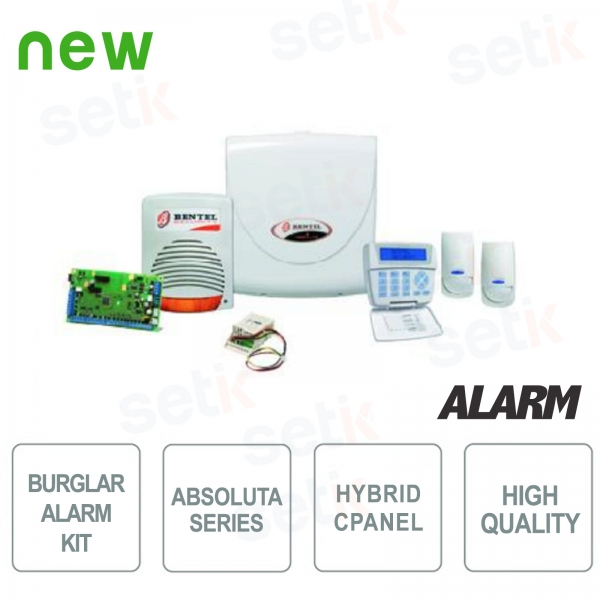 Promo Kit Antifurto Bentel Allarme Absoluta Smart