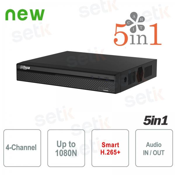 DVR 4 Canali XVR Dahua HD CVI TVI AHD ANALOGICO IP 1080N H.265+