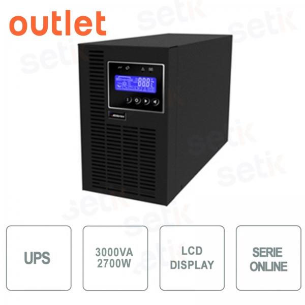 Gruppo di continuità UPS 3000VA / 2700W LCD Monofase - Outlet