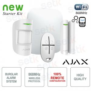 Kit de alarma AJAX Wireless Wireless Professional GPRS / Ethernet
